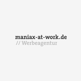 maniax-at-work.de// Werbeagentur